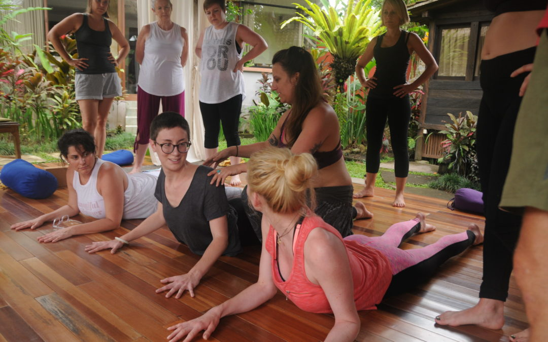 Life on Yin Yoga Teacher Training